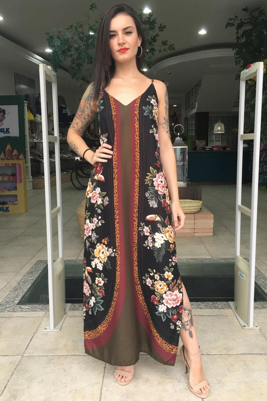 Vestido Reto Selena Farm Lojavivavida
