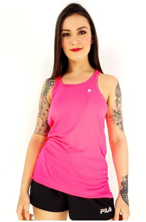 REGATA-FEM-FILA-LONG-DRAPED-PINK-NEON