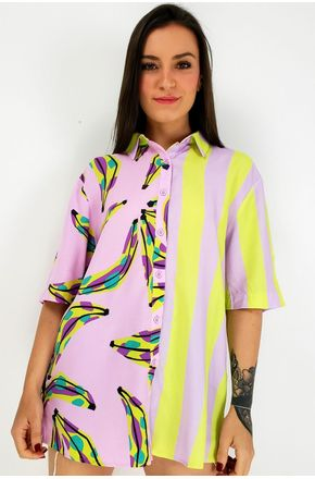 CAMISA-BANANAS-COLORIDA-FARM